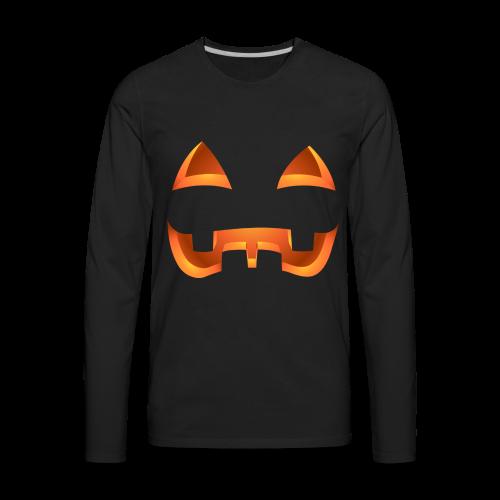Halloween Pumpkin Costume Shirts Men's - Men's Premium Long Sleeve T-Shirt