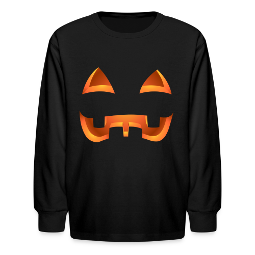 Halloween Pumpkin Costume Shirts Kid's - Kids' Long Sleeve T-Shirt