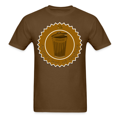 AniMat's Seal of Garbage (Men) - Men's T-Shirt