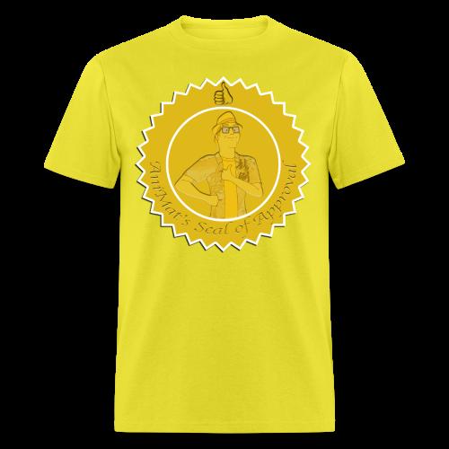 AniMat's Seal of Approval (Men) - Men's T-Shirt