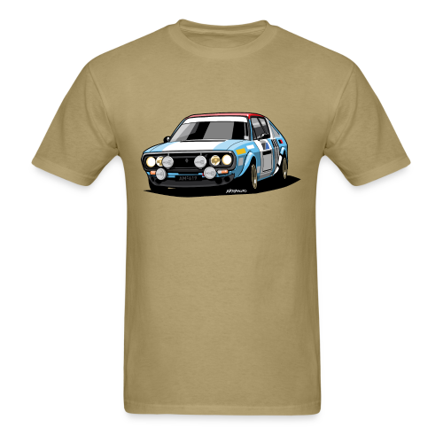 R17 Gordini 1974 Rally Car - Men's T-Shirt