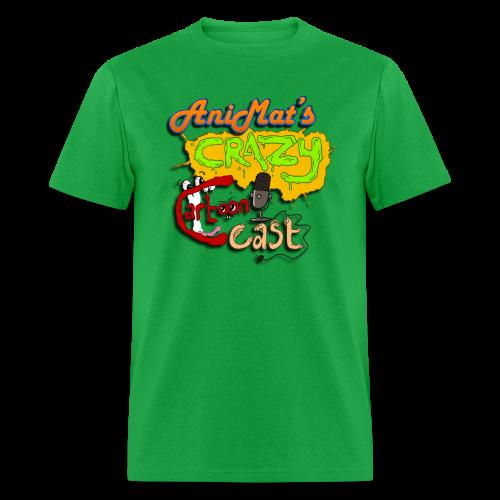 AniMat's Crazy Cartoon Cast (Men) - Men's T-Shirt