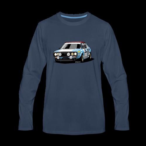 R17 Gordini 1974 Rally Car - Men's Premium Long Sleeve T-Shirt