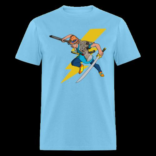 AniMat - Ghost Hunter (Men) - Men's T-Shirt