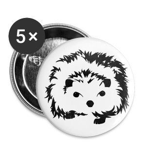 Little Hedgehog - Large Buttons