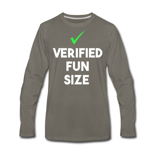 Verified Fun Size: Men's Long Sleeve - Men's Premium Long Sleeve T-Shirt