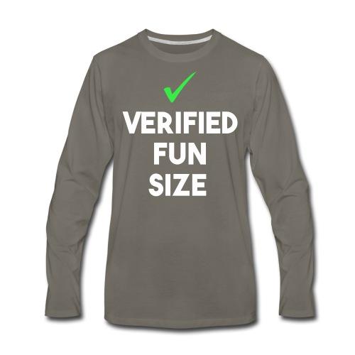 Verified Fun Size: Men's Long Sleeve - Men's Premium Long Sleeve T-Shirt