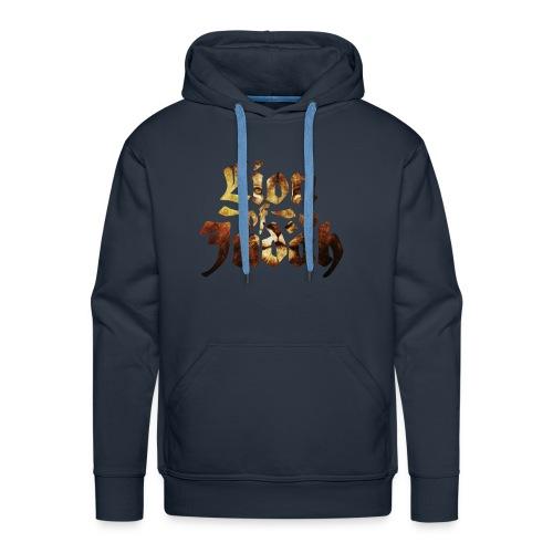 lion of Judah Mens Hoodie - Men's Premium Hoodie
