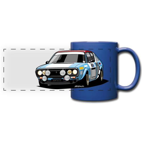 R17 Gordini 1974 Rally Car - Full Color Panoramic Mug