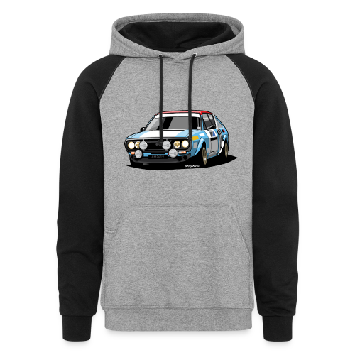 R17 Gordini 1974 Rally Car - Colorblock Hoodie