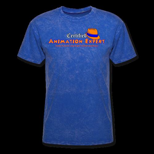 Certified Animation Expert (Men) - Men's T-Shirt
