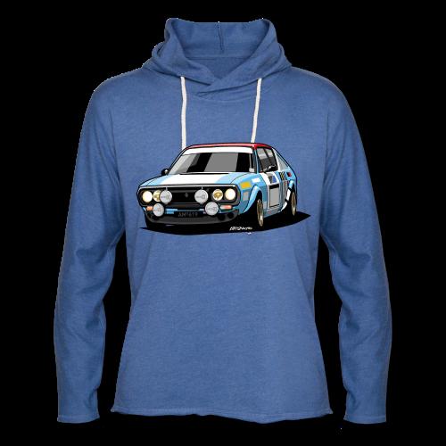 R17 Gordini 1974 Rally Car - Unisex Lightweight Terry Hoodie