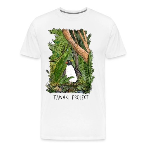 Bush penguin - Men's Premium T-Shirt