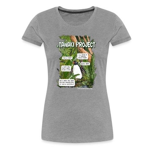 What is Tawaki? - light - Women's Premium T-Shirt