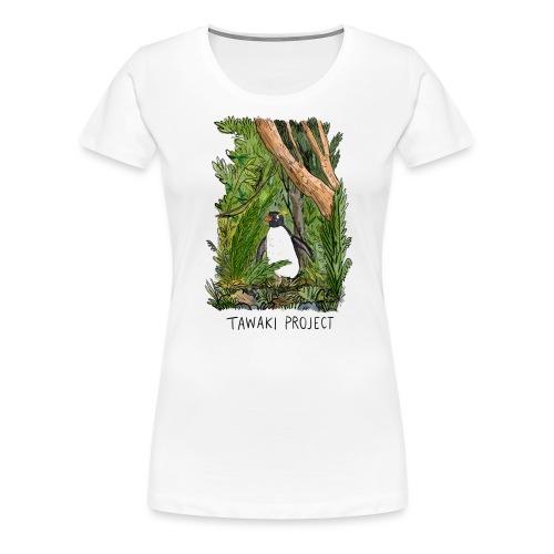 Bush penguin - Women's Premium T-Shirt