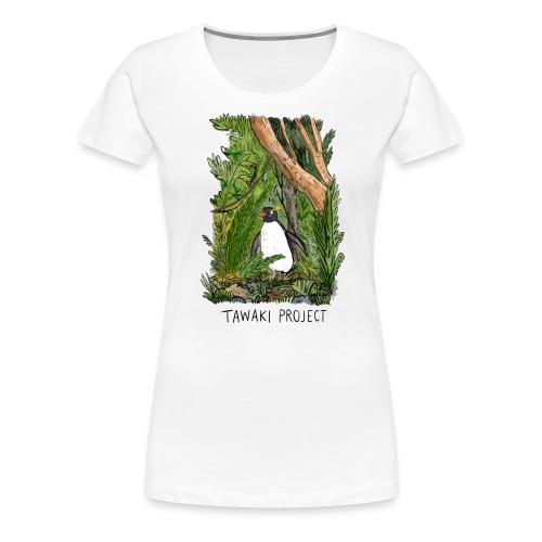 Bush penguin - Women's Premium T-Shirt