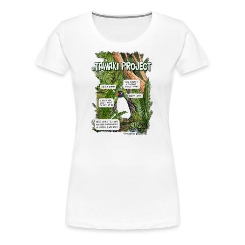 What is Tawaki? - Women's Premium T-Shirt
