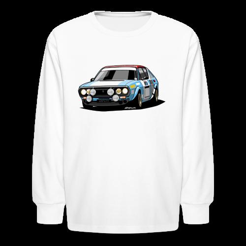 R17 Gordini 1974 Rally Car - Kids' Long Sleeve T-Shirt