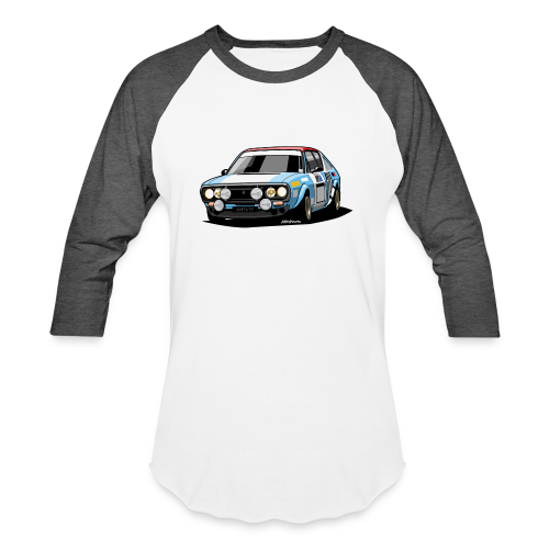 R17 Gordini 1974 Rally Car - Baseball T-Shirt