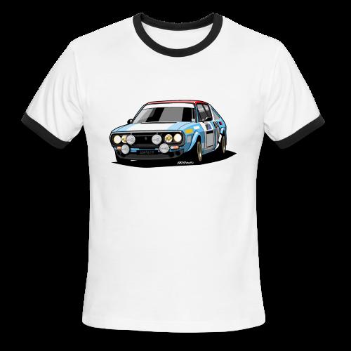 R17 Gordini 1974 Rally Car - Men's Ringer T-Shirt