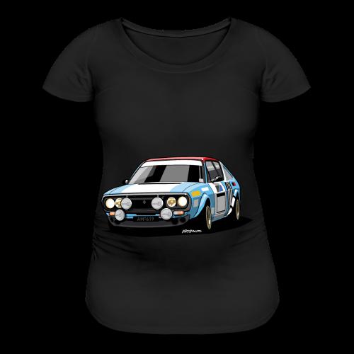 R17 Gordini 1974 Rally Car - Women's Maternity T-Shirt