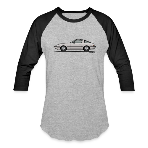 Mazda RX-7 RB Savanna Sunbeam Silver - Baseball T-Shirt