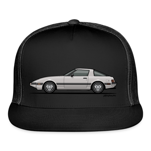 Mazda RX-7 RB Savanna Sunbeam Silver - Trucker Cap