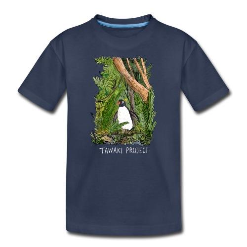 Bush penguin - light - Kids' Premium T-Shirt