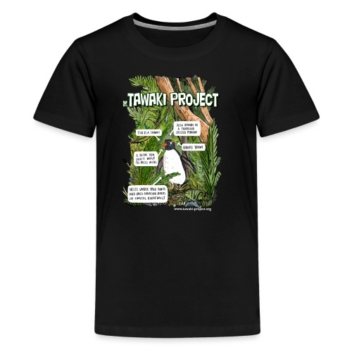 What is Tawaki? - light - Kids' Premium T-Shirt