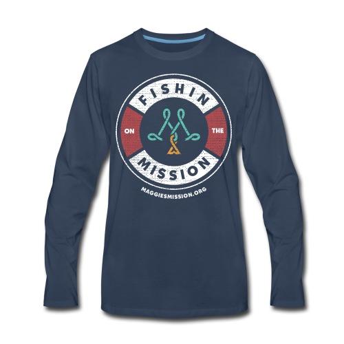 Fishing on the Mission - Men's Premium Long Sleeve T-Shirt
