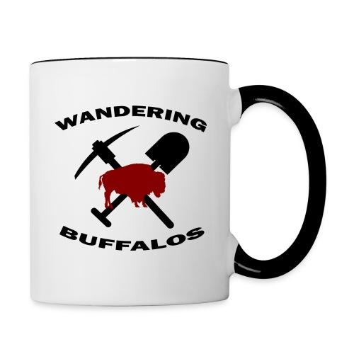 Wandering Buffalos Coffee Mug - Contrast Coffee Mug