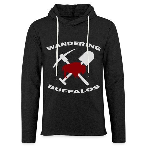 Wandering Buffalos Light-Weight Hoodie - Unisex Lightweight Terry Hoodie