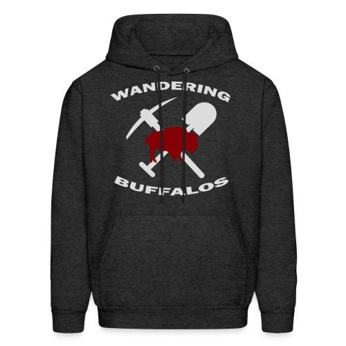 Wandering Buffalos Pull Over Hoodie - Men's Hoodie