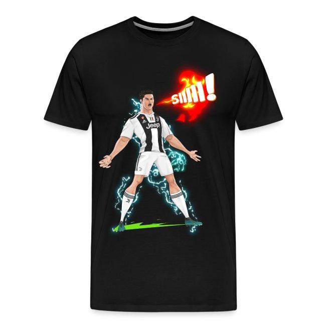 sports shoes 5801f 4a79e Ronaldo Juventus Sii!   Men's Premium T-Shirt
