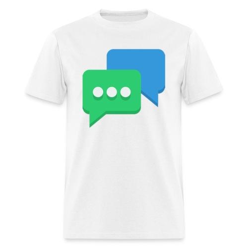 chat men's t-shirt - Men's T-Shirt