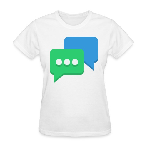 chat women's t-shirt - Women's T-Shirt
