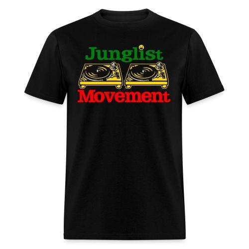 JUNGLIST MOVEMENT ( MENS ) - Men's T-Shirt