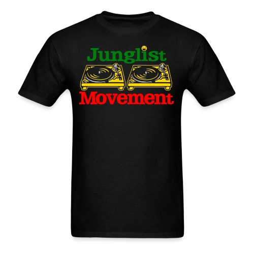 JUNGLIST MOVEMENT ( MENS ) - Men's T-Shirt