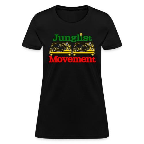 JUNGLIST MOVEMENT ( FEMALE ) - Women's T-Shirt