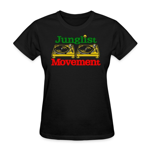 JUNGLIST MOVEMENT ( FEMALE ) - Women's T-Shirt