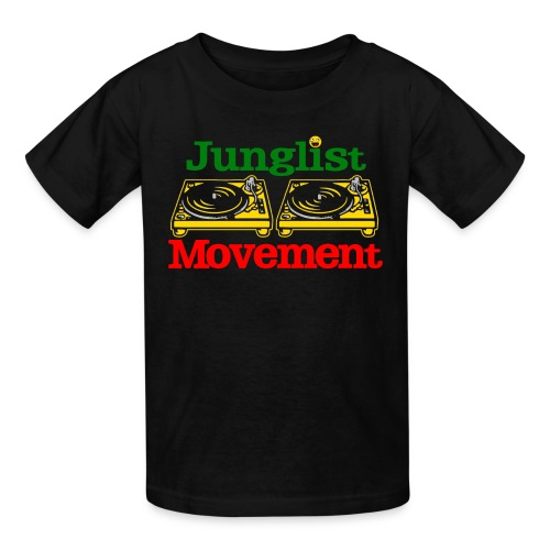 JUNGLIST MOVEMENT ( KIDS ) - Kids' T-Shirt