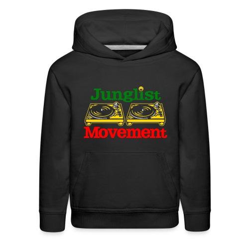 JUNGLIST MOVEMENT ( KIDS ) - Kids' Premium Hoodie