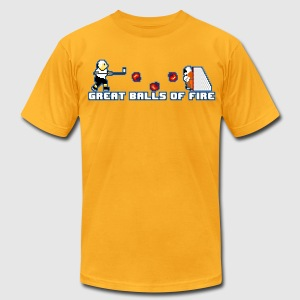 Great Balls of Fire - Men's T-Shirt by American Apparel