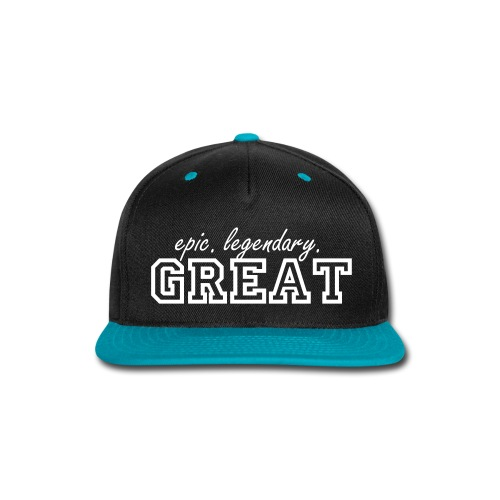 Glenn the Great Snapback! - Snap-back Baseball Cap