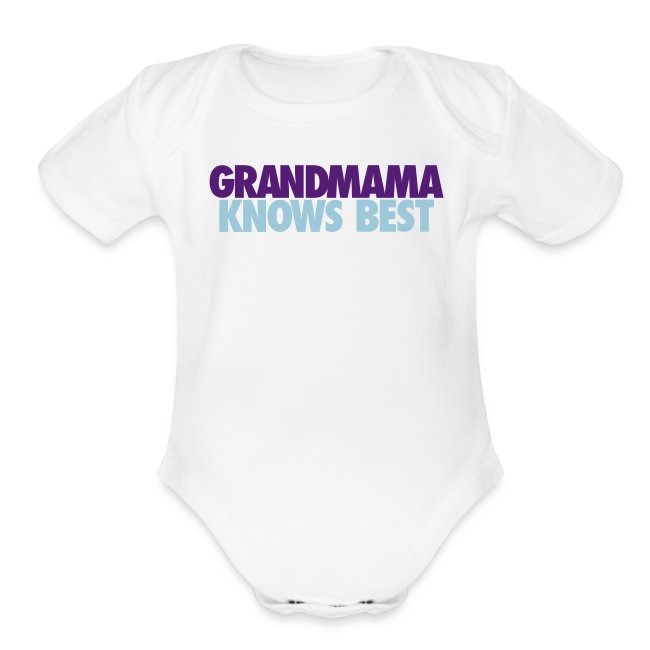 BABY GRANDMAMA KNOWS BEST LJ2