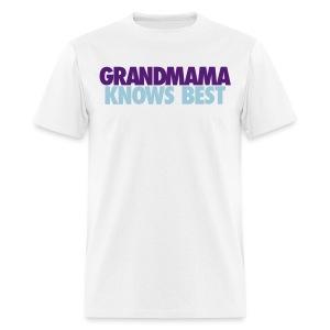 GRANDMAMA KNOWS BEST LJ2 - Men's T-Shirt