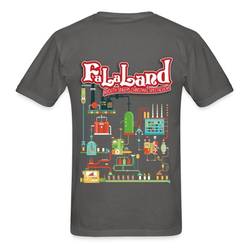Men's Fa La Land Christmas 2018 T-Shirt - Men's T-Shirt