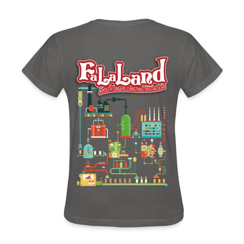Women's Fa La Land Christmas 2018 T-Shirt - Women's T-Shirt