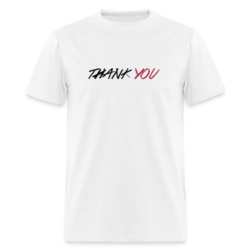 thanks you men's t-shirt - Men's T-Shirt