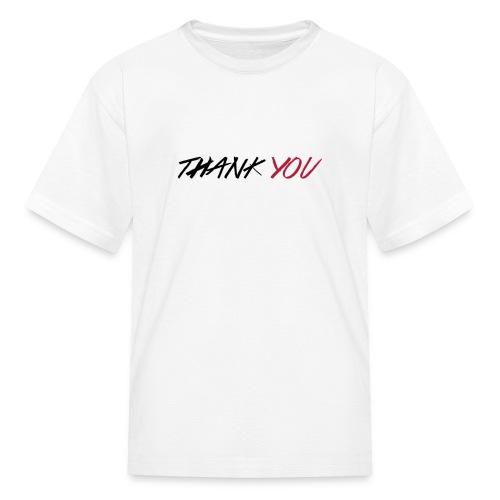 thanks you kids' t-shirt - Kids' T-Shirt